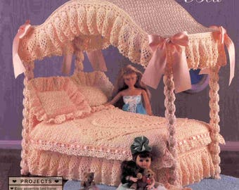 Barbie Crochet Patterns - Barbie Pattern - Fashion Doll Collector Furniture Crochet Ebook - PDF - Instant download