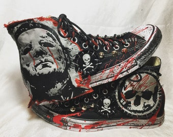 Blood of The Shape shoes by Chad Cherry