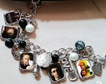 Bee Gees Charm Bracelet & Necklace