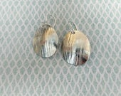 Sterling silver textured ...