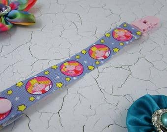 Dummy Clip / Pacifier Strap - Ben & Holly