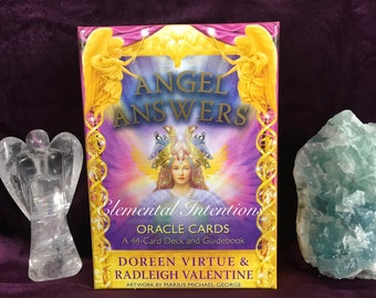 ANGEL ANSWERS Oracle Card Reading : One Card Draw { Simple and Direct Advice}