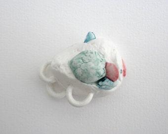 Pez balón porcelana