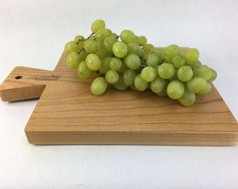 Cherry cutting board with Keystone handle, cheese board, wedding present