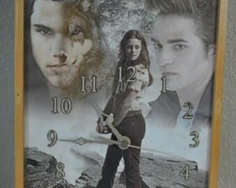 New Moon Eclipse (Twilight Saga) Clock