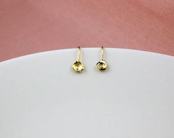 YG105 Wee Goldydrops of Pure 18k Gold