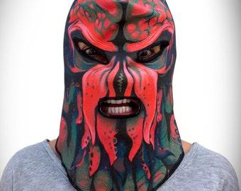 Cthulhu Monster Mask (100% Organic Cotton Knit)