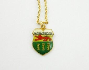 Saskatchewan Charm Necklace