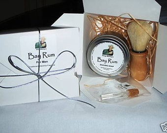 Doug Murray's BAY RUM Shaving Soap 200g (7.05oz) - GIFT Pack For Men