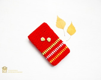 iPhone Sleeve, iPhone Sock, all mobile sizes. Modern Gift.iPhone 6s plus sock, Cell Phone Case. Cell Phone Covers. Samsung Galaxy Case