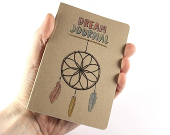 Dream Journal, Small Notebook Dream Catcher