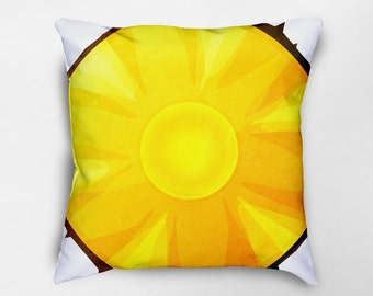 Pineapple Pillow, Pineapple Decor, Pineapple Pillow Cover, Fruit Pillow, Yellow Pillow, Summer Decor, Fruit Decor, Dorm Pillows
