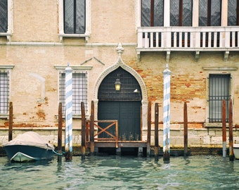 Venice Italy Print, Europe Wall Art, Venice Photography, canal, balconies, windows, doors, Europe Architecture, Italy decor, fine art print