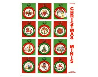 Christmas Minis Cross Stitch Leaflet, Christmas Ornaments, Christmas Decorations, Christmas Patterns, Ornaments Cross Stitch, Mini Ornaments