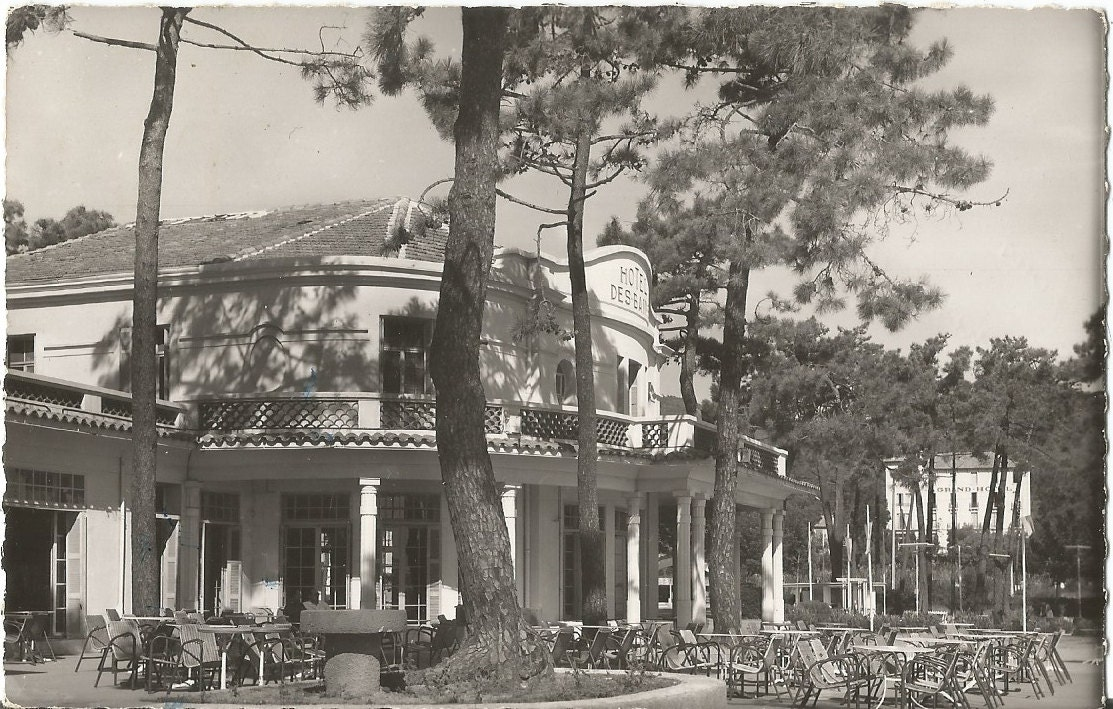 Hotel des Bains Cavalaire-Sur-Mer Frankreich Vintage 1953