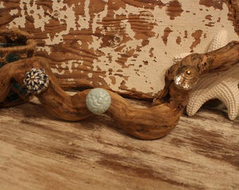 Unique Boho Vibe Driftwood Jewelry Hanger Holder OOAK