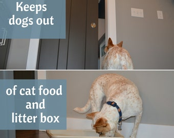 Door Buddy® Door Strap \u0026 Latch | Lets Cats in! Keeps Dogs out | & Door Buddy® Door Strap \u0026 Latch Lets Cats in Keeps Dogs out