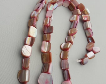 Pink Mother Of Pearls Beads