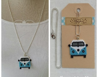 VW-Van necklace handmade and original choose your favorite colour