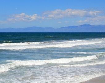 Manhattan Beach - California Coast Photo Print - Size 8x10, 5x7, or 4x6