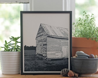 Vernacular Architecture, Barn Print, Rustic Home Decor, Barn Photography, Rural Artwork, Historic Architecture, Abandoned Structure,