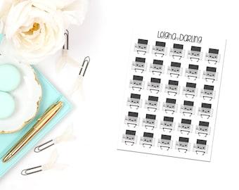 Kawaii Printer Planner Stickers