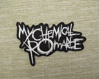 MY Chemical Romance Jacket Patch iron on sew on Embroidery badge / patch