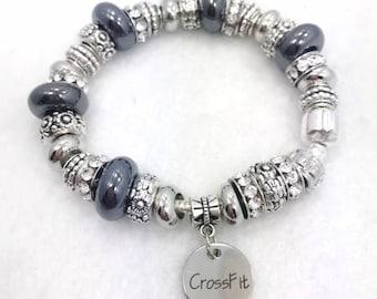 Crossfit Charm Bracelet