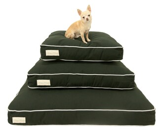 Black and White Dog Bed COVER   Designer Dog Bed SLIPCOVER   Unique Pet Bed Slipcover   washable cover   Pet Beds for a Dog or Cat   S M L