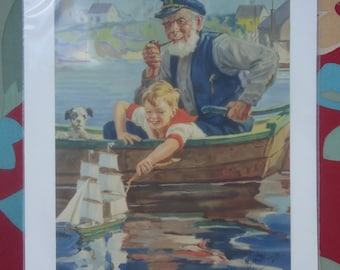 A Mariner in the Making Print