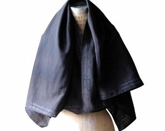 e.e.  cummings , Silk Scarf , Fashion Accessories, spring