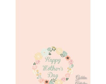 "4x6"" Mother's Day Card 1-Digital Download"