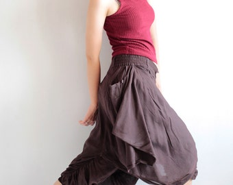 Hanna funky Skirt over pants...No.14 mix silk( GP-355)