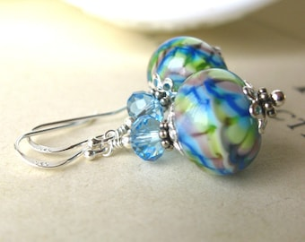 Melody  Lampwork earrings