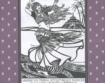 Belly Dancer, Folkwear Pattern 144