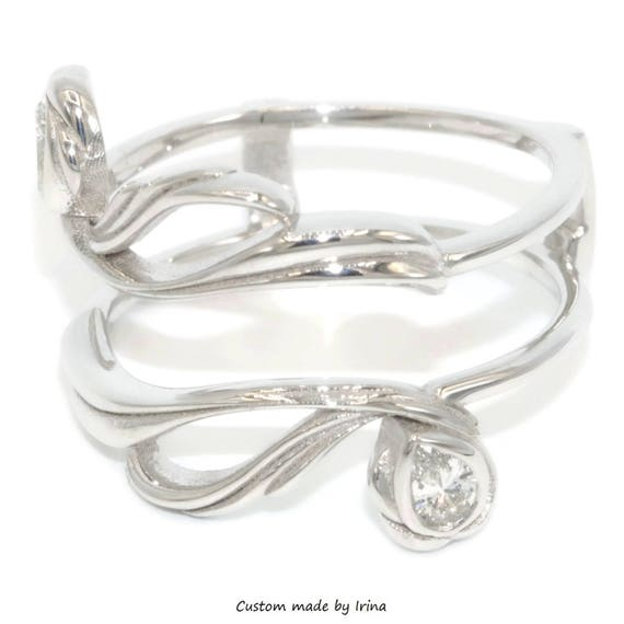 Ring Jacket Wedding Diamond Ring guard enhancer Diamond Ring