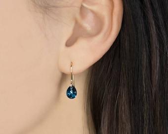 Drop earrings - Dangle earrings - Dainty earrings - Dangle drop earrings - Made using Swarovski® elements