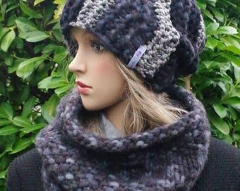 Woolset: Grey cap and loop
