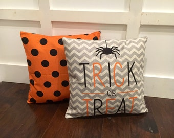 Trick or Treat- Halloween pillow cover