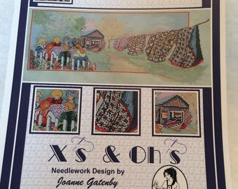 """CLEARANCE Cross Stitch Chart - """"And Sew On"""" by X's & Oh's"""