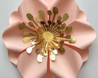Paper flower wall etsy svg 2 525 flower fillers file for cutting machines such as cricut and silhouette mightylinksfo
