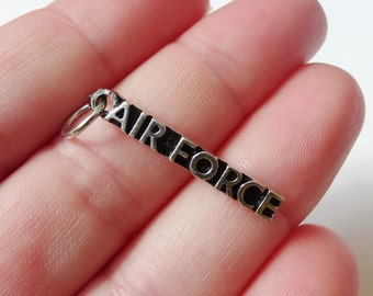 4 AIR FORCE Charms 34x4mm ITEM:F16