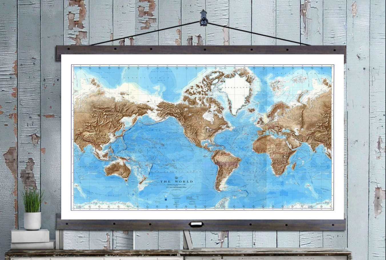 New pull down map world map on canvas 1910 60w x 40h school pull down map world map on canvas 1910 60w x 40h school chart school map wall chart hanging map antique wall map gumiabroncs Images