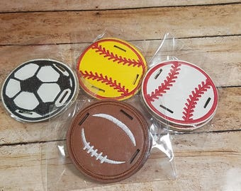 Replacement discs for sandals, sports sandal discs, sports disks - DISKS ONLY - baseball, football, softball, soccer