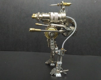 Handmade Robot and Motocycle