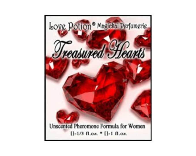 Treasured Hearts - UNscented Pheromone Blend for Women - Love Potion Magickal Perfumerie