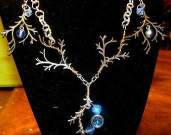 Moonlit Tree Necklace & Earring Set