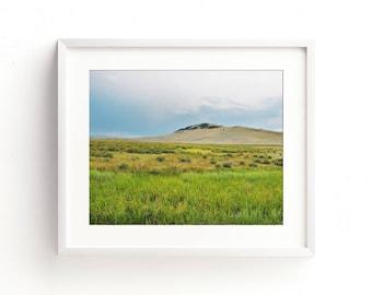 """landscape photography, large colorful landscape art, landscape art prints, large art, large wall art, nature prints, art - """"Flood Plains"""""""