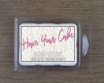 Have Your Cake 3oz scented soy wax tart