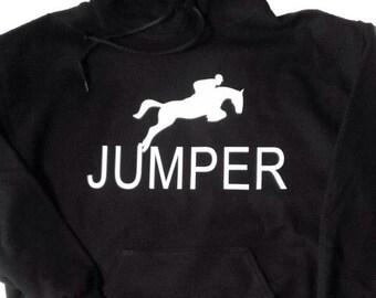 Horse jumper hoodie